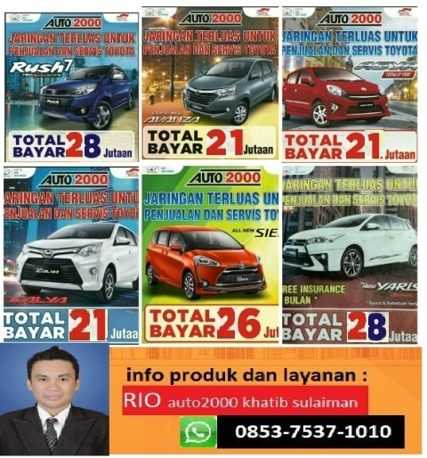 Promo Mobil Toyota Padang By Fitrio