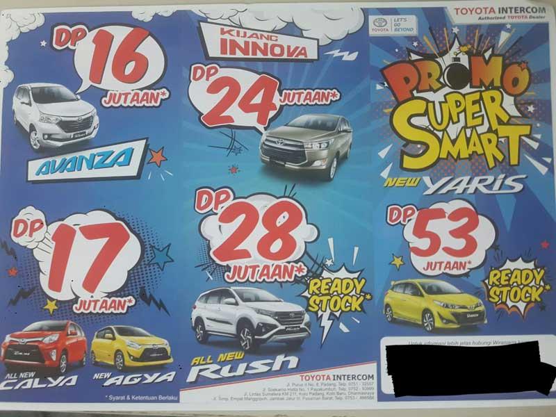 Promo Toyota Padang By Adek