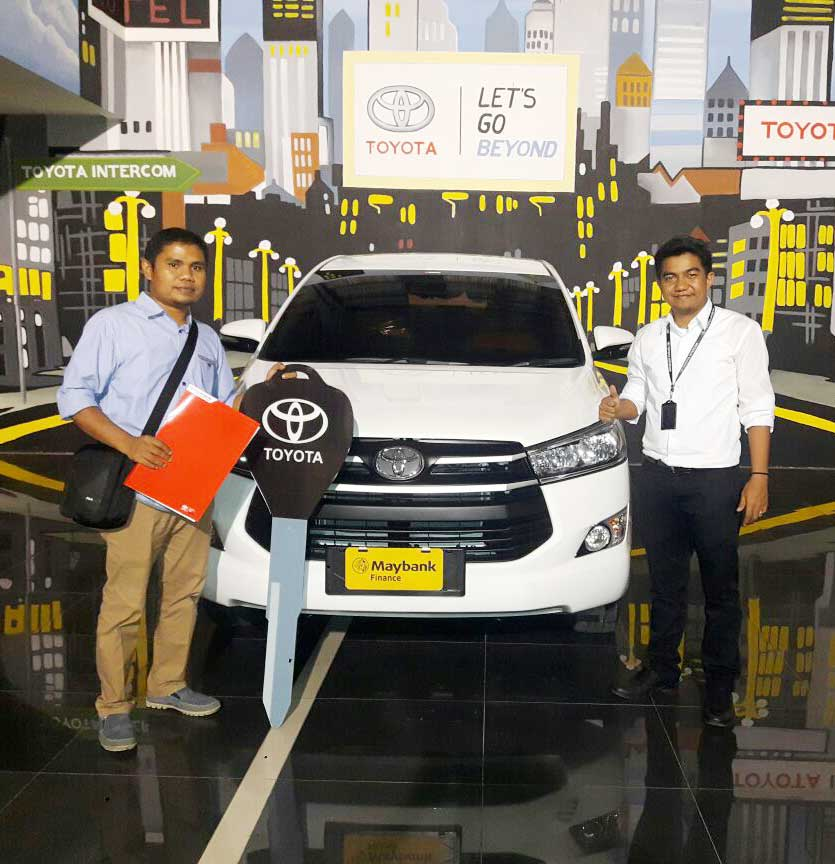 Sales Marketing Mobil Dealet Toyota Padang Adek