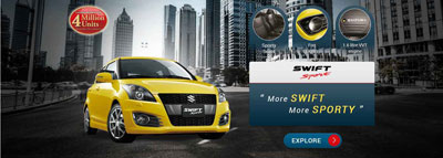 17. Suzuki Swift Sport