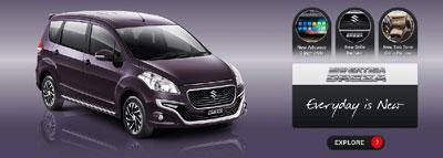 2. Suzuki New Ertiga Dreza