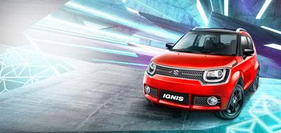 Suzuki Ignis Sidebar